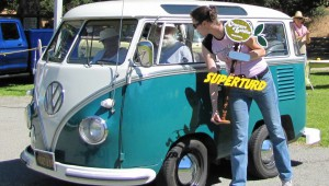 "Shortened VW van accepts ""Worst in Show"" at Concours d'LeMons"